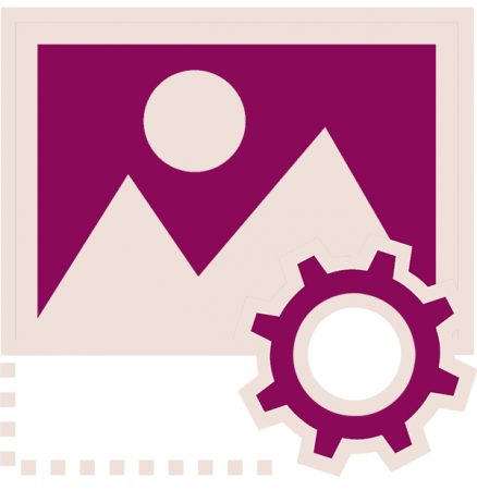 gear and image icon