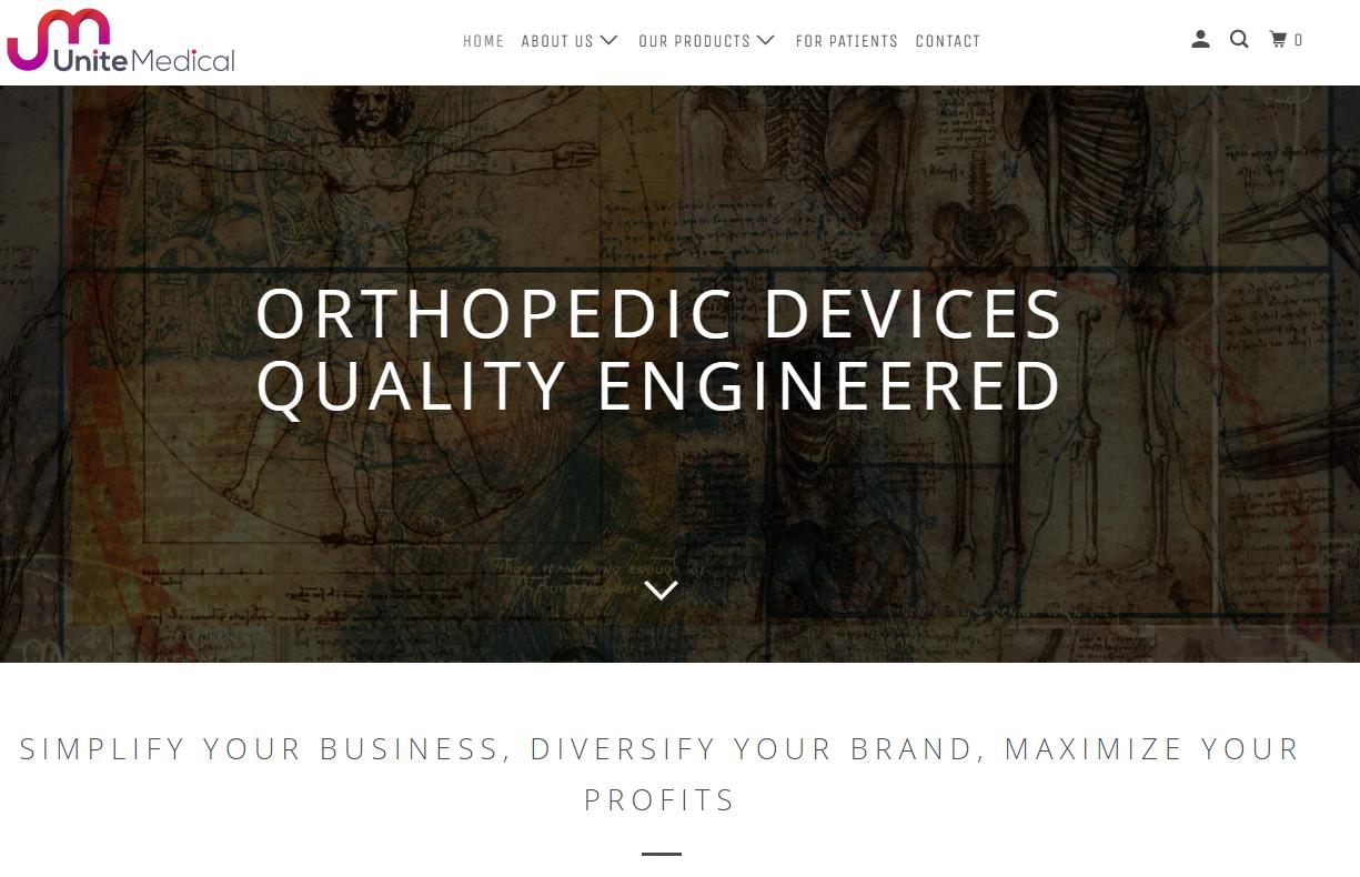 Unite Medical Homepage