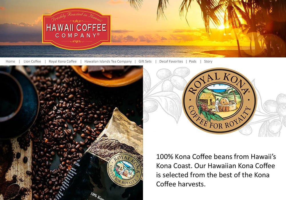 Hawaii Coffee Company Amazon Brand Store
