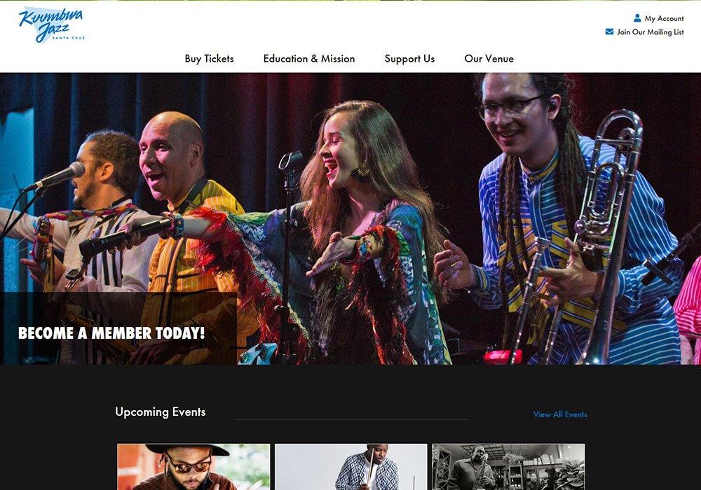 Kuumbwa Jazz homepage