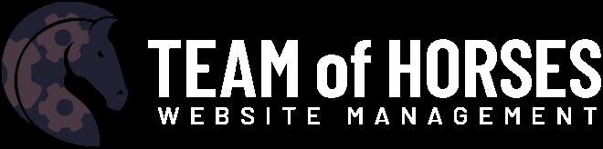 Team of Horses : Website Management